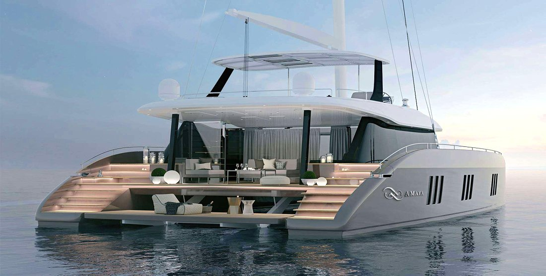 AMAYA-Crewed Charter Catamaran in Greece - HELLAS YACHTING