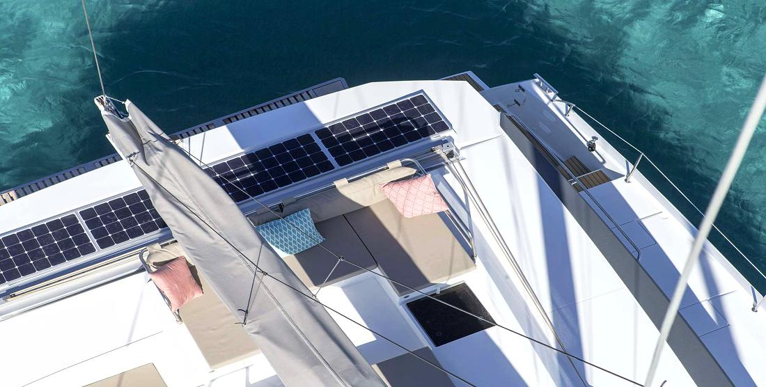 ANNABELLA - Crewed Charter Catamaran Greece - HELLAS YACHTING