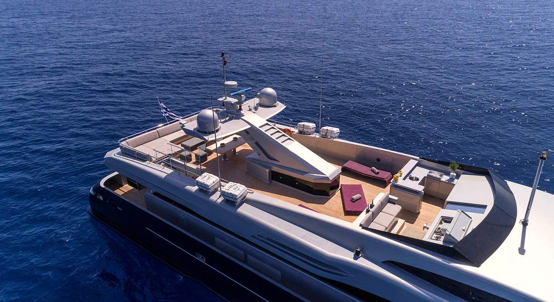 BILLA - Luxury Charter Yacht Greece - HELLAS YACHTING