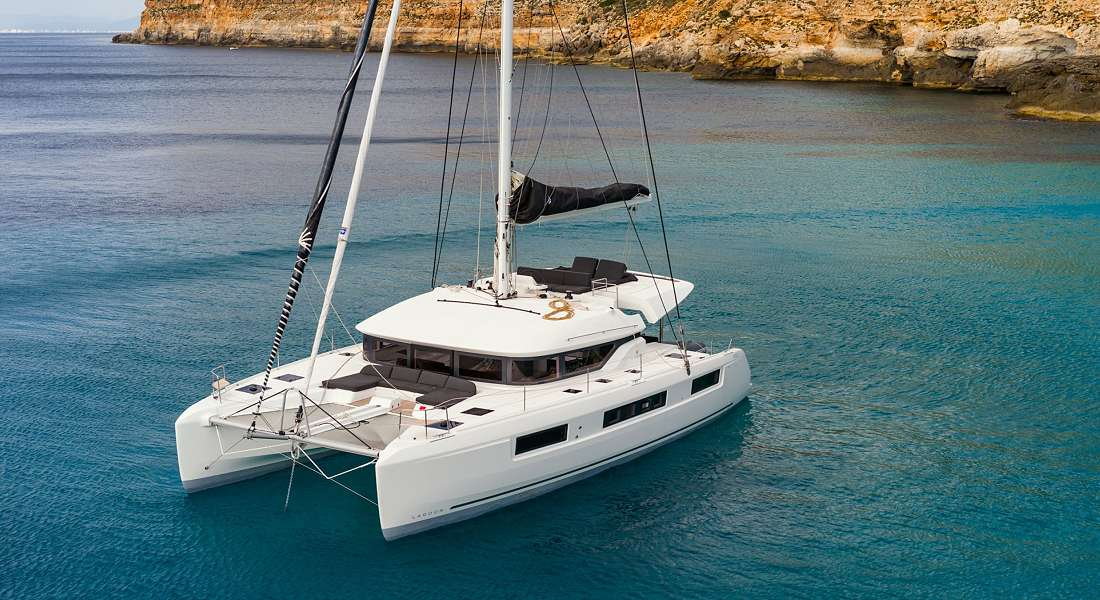 KALIMAR - Crewed Catamaran Charter Greece - HELLAS YACHTING