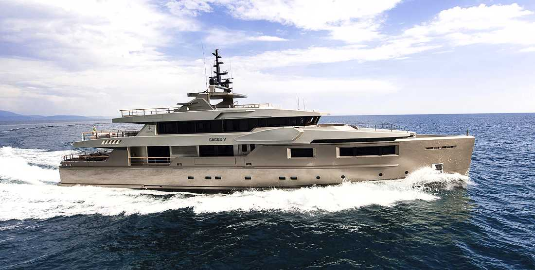 GIRAUD ex. CACOS - Luxury Charter Yacht Greece, Monaco - HELLAS YACHTING