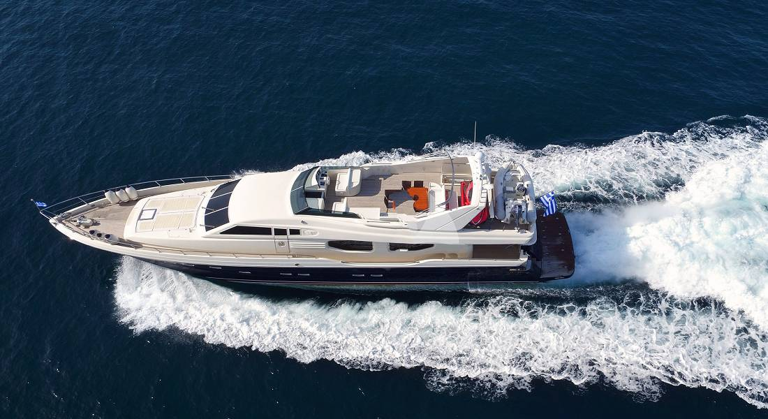 AETOS E - Motor Yacht Charter in Greece - HELLAS YACHTING