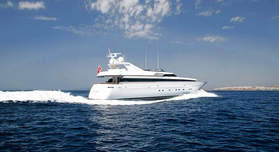 REGINA K - Luxury Motor Yachts Charter Greece & Monaco - HELLAS YACHTING