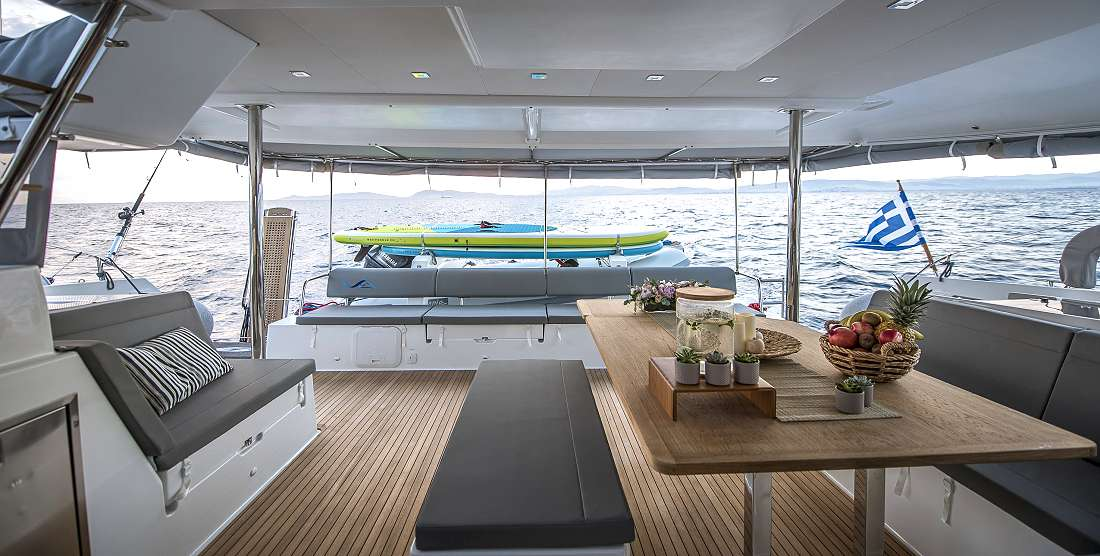 SEA ENERGY V - Crewed Charter Catamaran Greece - Hellas Yachting