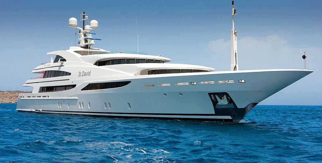 ST. DAVID - Super Luxury Yacht Charter Greece, Monaco, French Riviera - HELLAS YACHTING