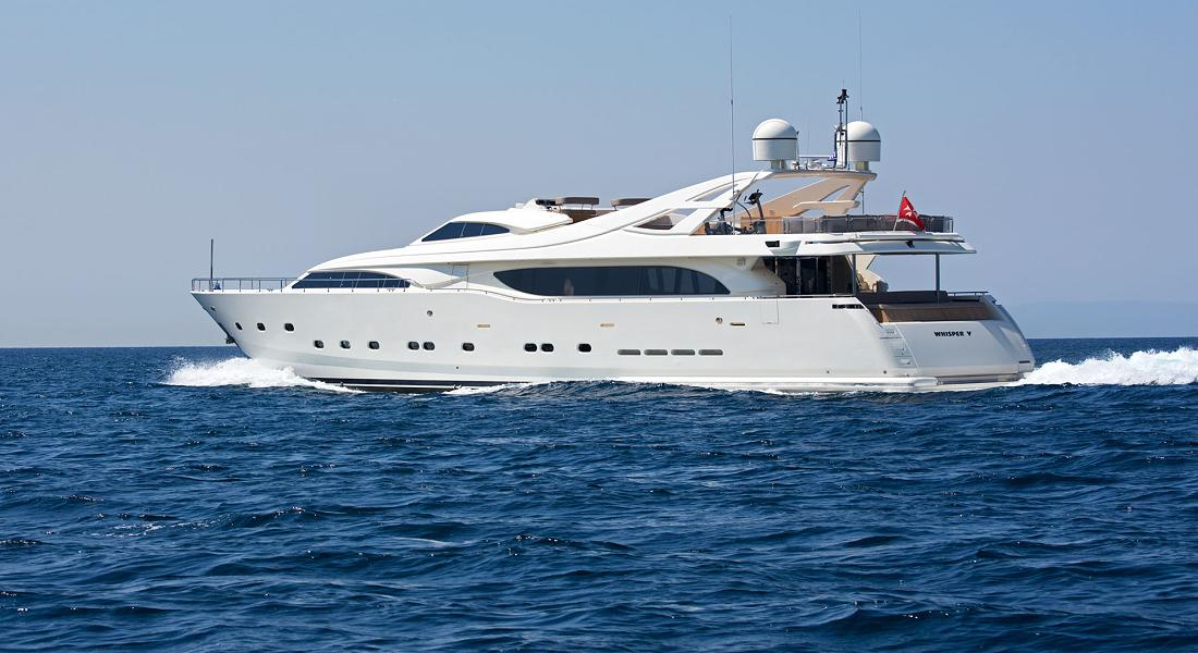 WHISPER V - Charter Motor Yacht in Greece - HELLAS YACHTING