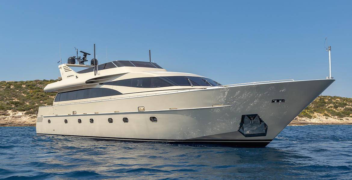 Motor Yacht Anamel for charter in Greece - HELLAS YACHTING