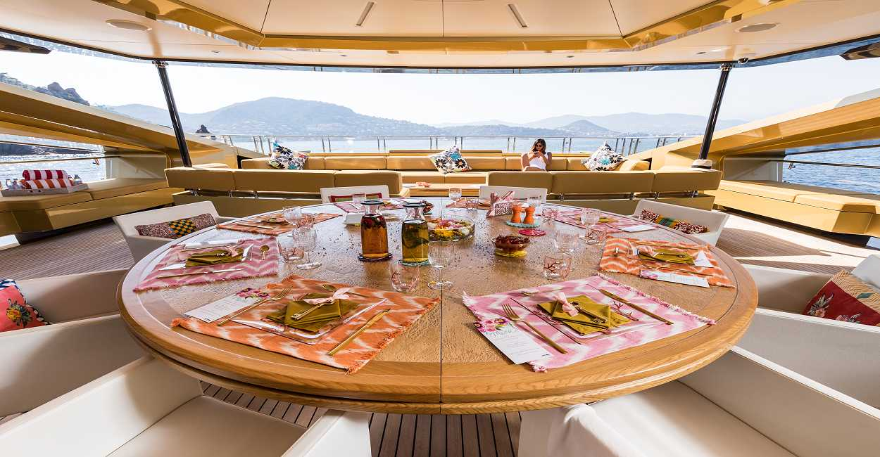 KHALILAH Luxury Super Yacht Charter in Greece, Monaco, French Riviera - HELLAS YACHTING