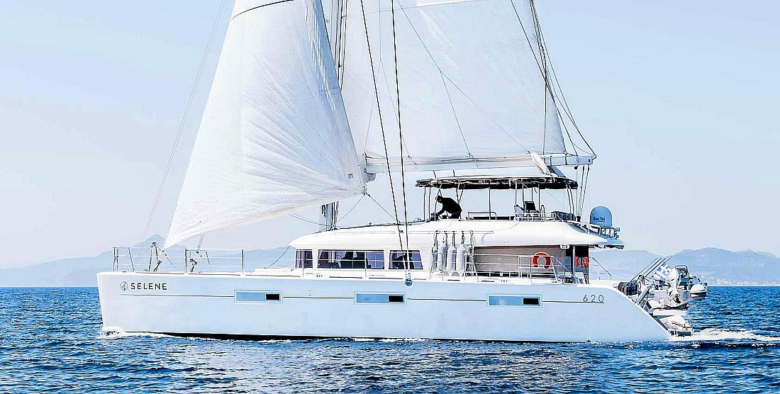 SELENE - Crewed Catamaran Charter Greece - HELLAS YACHTING