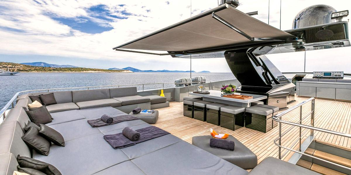 MADO- Motor Yacht Charter in Greece - HELLAS YACHTING