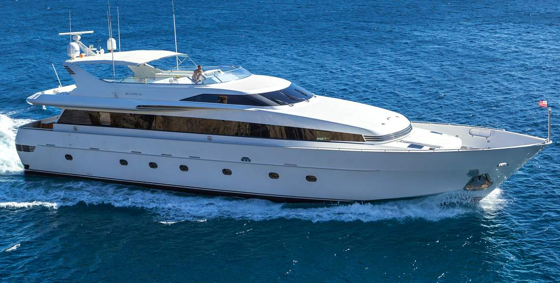 MARVI DE, Charter Motor Yacht Admiral 100'ft. - HELLAS YACHTING