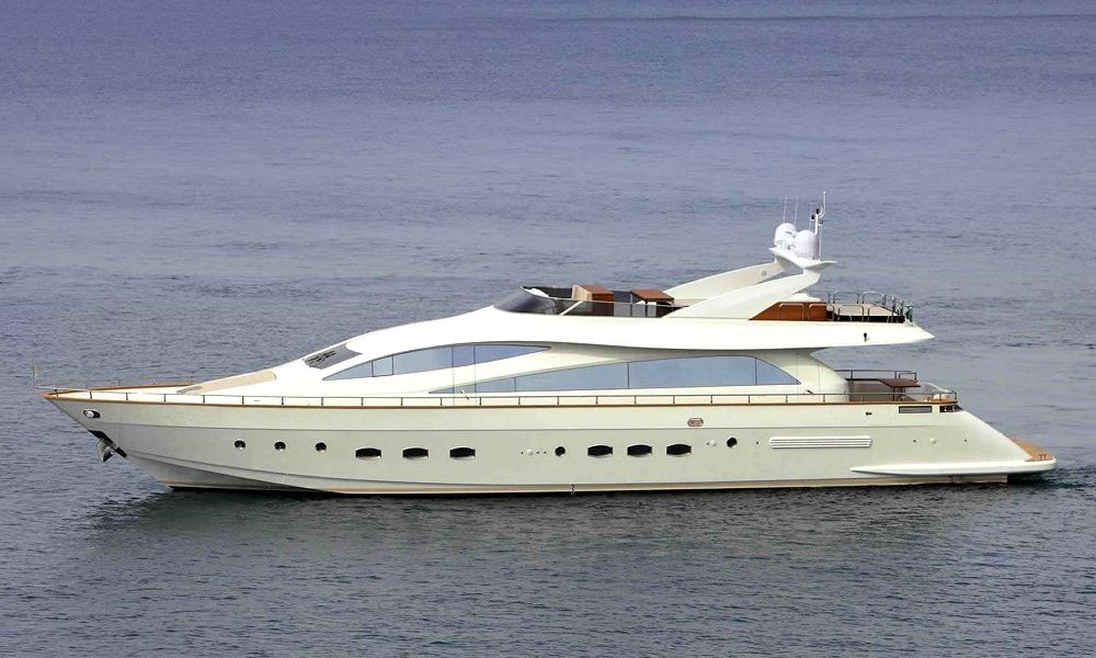 Charter Motor Yacht AMER-ICA in Greece - HELLAS YACHTING-1