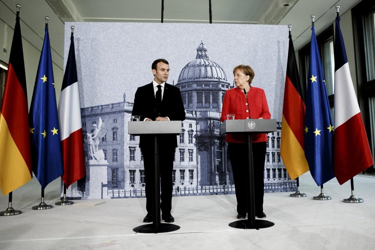 """Ο Γερμανοί """"βύθισαν"""" τις γαλλικές φρεγάτες; Η δυσπιστία της Καγκελαρίου για τον Μακρόν..."""