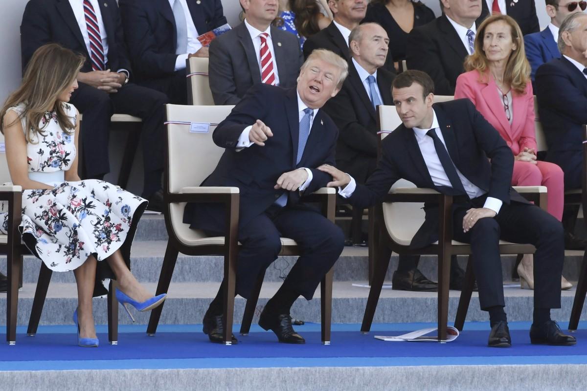 Ο Μακρόν έγινε ο άνθρωπος του Τραμπ στην Ευρώπη και όχι μόνο: Με τιμές στον Λευκό Οίκο