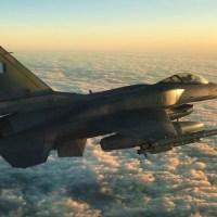 Eίδαν real time αερομαχίες στο Αιγαίο: Βέλγοι πιλότοι μάρτυρες εναέριου τείχους της Π.Α.