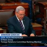 """Ράπισμα για τον Τραμπ και τον """"φίλο"""" Ερντογάν: Το δάκρυ και η «εκδίκηση» του γερουσιαστή Μενέντεζ"""