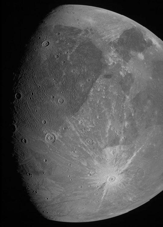 File Photo Κοντινό πλάνο του Γανυμήδη APE-MPE