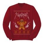 Ginger Metal Sweatshirt (Red)