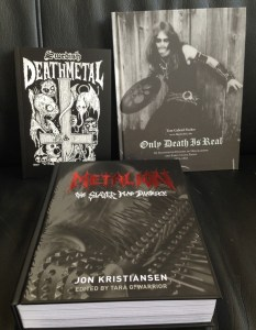 THE BOX OF BLACK BOOKS: Metalion, Only Death Is Real, and Swedish Death Metal Collection