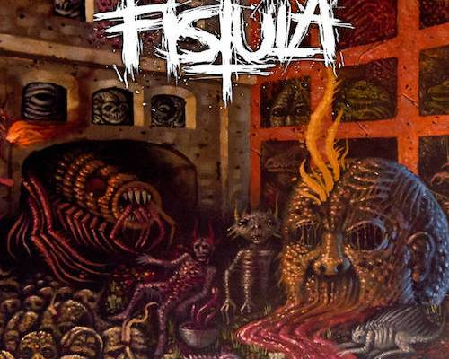 fistula longing for infection album cover
