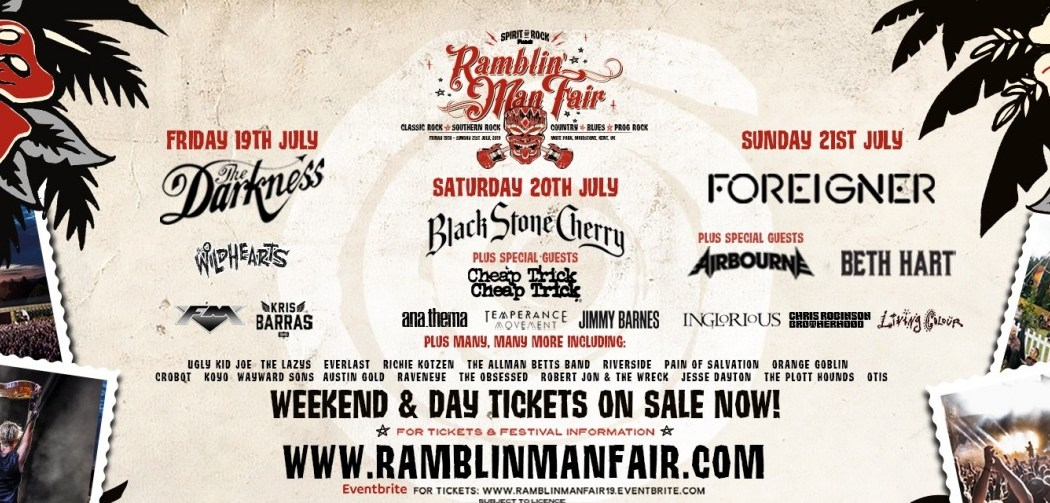 Ramblin' Man Fair event poster