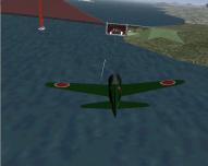 A6M2 Attacking Enemy Bridge Foundation