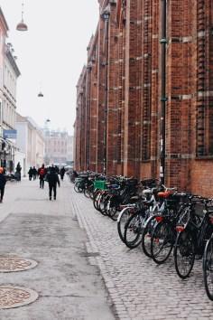 je n'ai vu autant de vélos