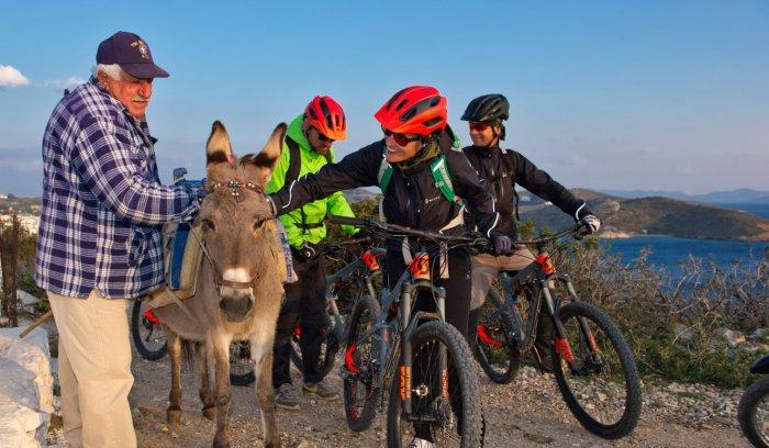 Λέρος, Ποδηλασία, πεζοπορία