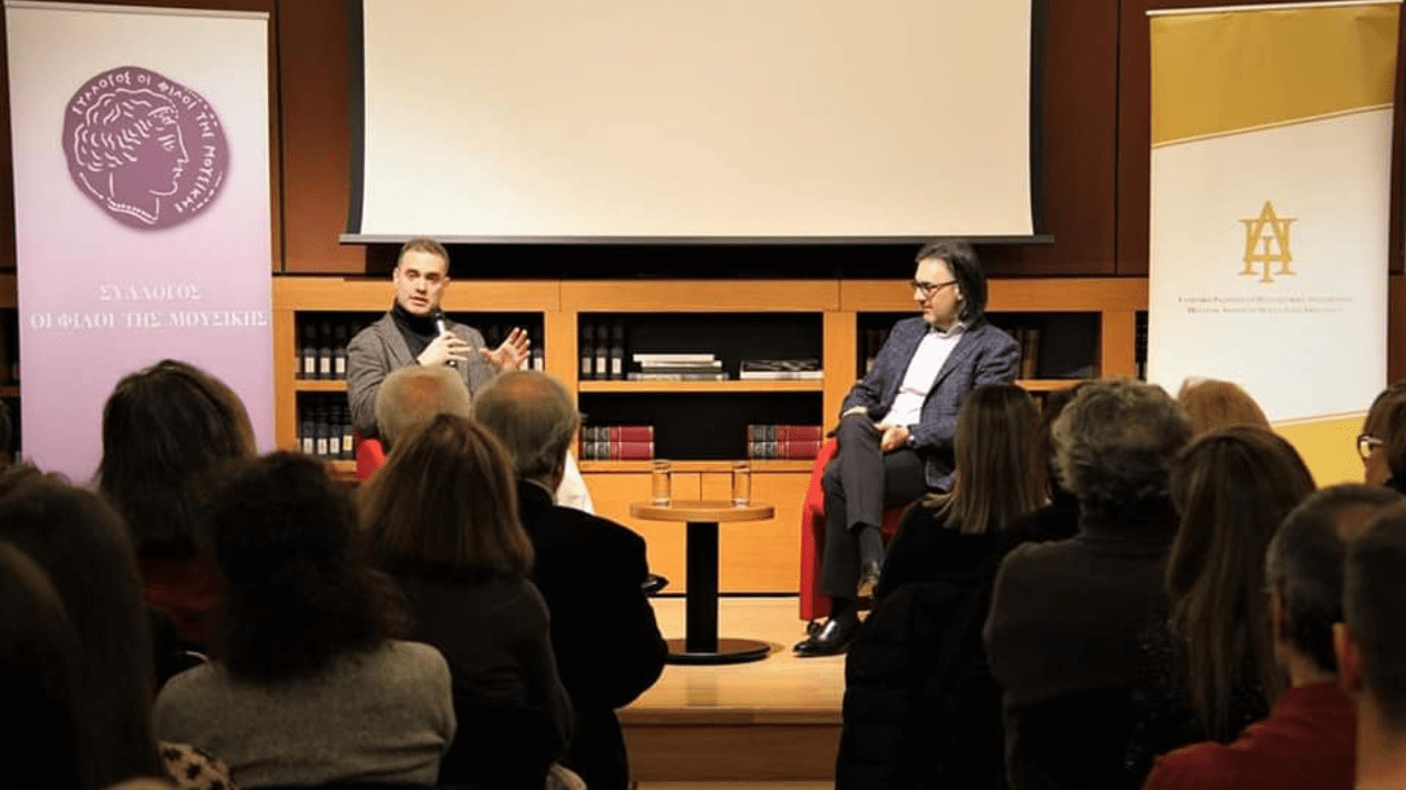 Leonidas Kavakos: The lack of the Greek musical education as a factor of social poverty