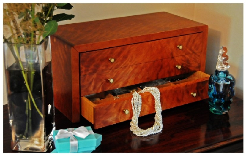 Cherry Jewelry Box | Heller and Heller Furniture
