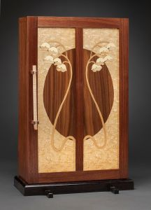 Lily of the Valley Jewelry Cabinet | Heller & Heller Furniture | Photo by Robert Batey