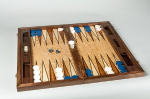 Backgammon Case by Heller and Heller
