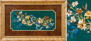 French Marquetry Oeben panel
