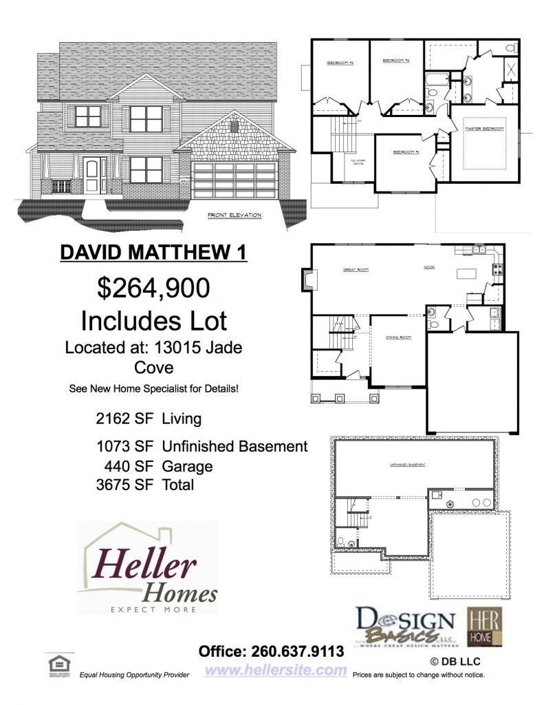 Heller Homes' 39 Watersong Handout David Matthew 1