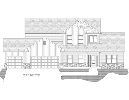 Mary Floor Plan front elevation