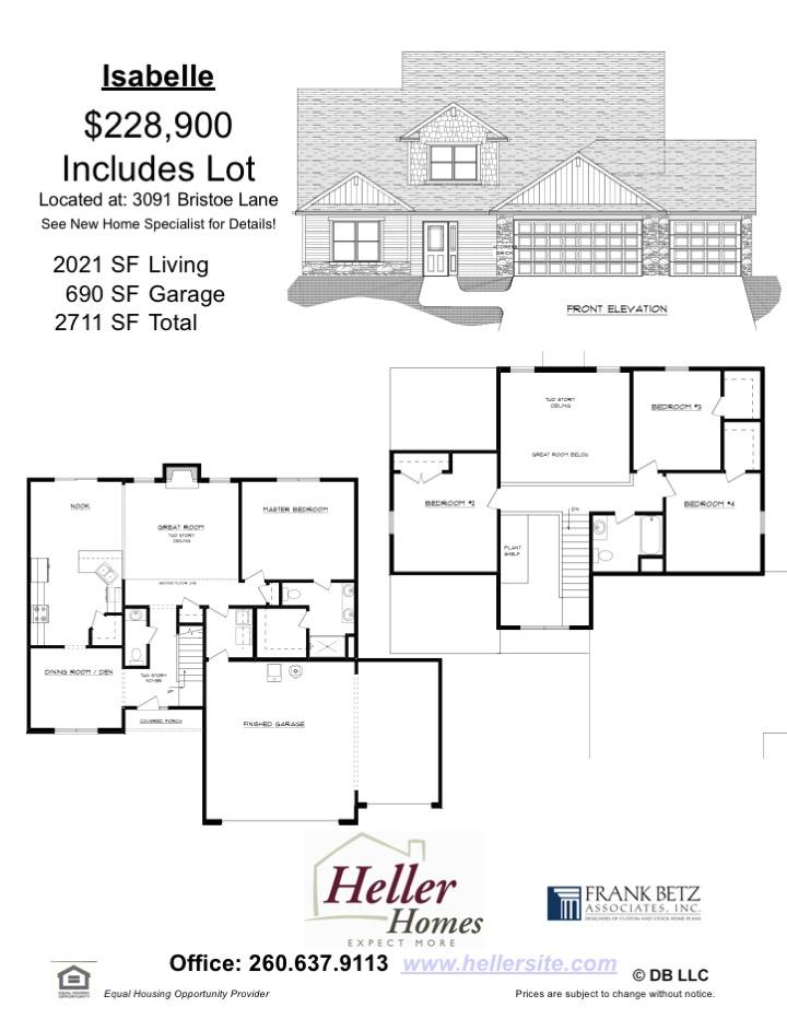 32 Bristoe Handout - Heller Homes' Isabelle at 32 Bristoe Handout