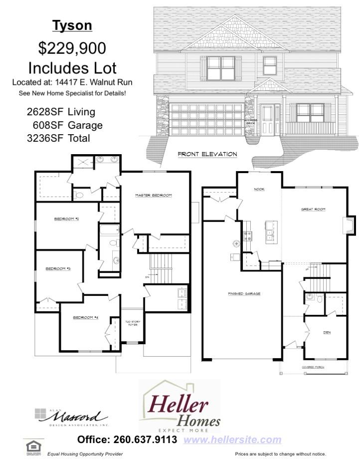 43 Bristoe Handout - Heller Homes' Tyson at 43 Bristoe Handout