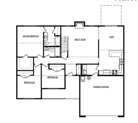 Harrison Floor Layout - Heller Homes Harrison First Floor Plan