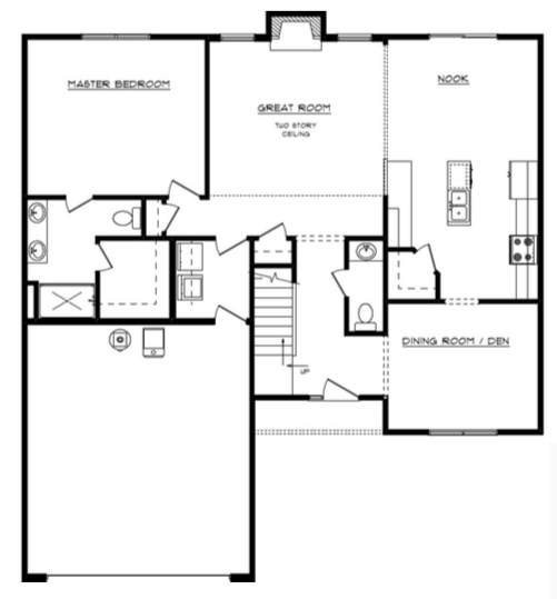 Isabelle Floor Layout - Heller Homes Isabelle First Floor Plan