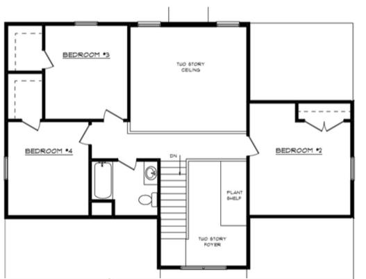 Isabelle Floor Layout - Heller Homes Isabelle Second Floor Plan