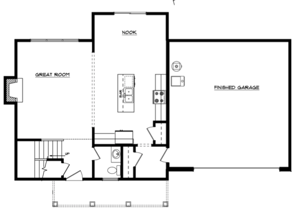 Kandon Place Floor Layout - Heller Homes Kandon Place First Floor Plan