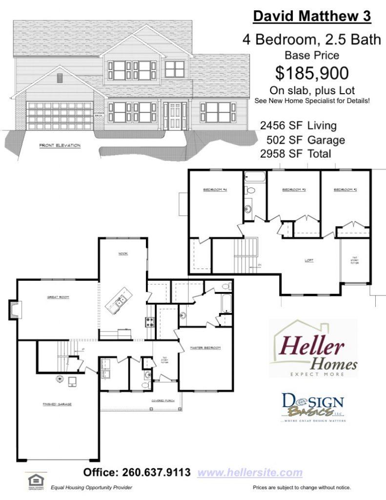 Alexa 2 Handout - Heller Homes Floor Plan Alexa 2
