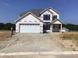 Heller Homes Available Homes - A picture our Lot 37 Lone Oak Henry