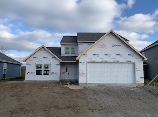 Heller Homes Available Homes - A picture our Lot 14 Lone Oak