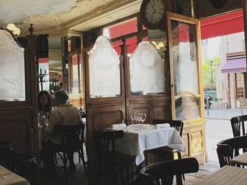 Klassisk fransk bistro.