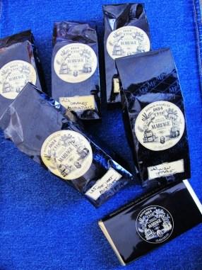 Te og sjokolade fra Mariage Freres.