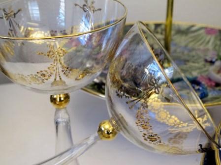 Patriksson Communication:Champagneskåler fra Jade Jagger.