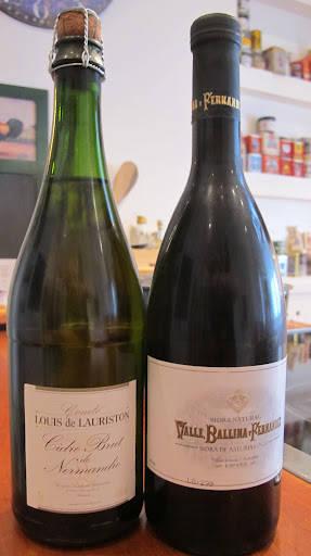 Valle Ballina y Fernandez Sidra Natural 2009 ble vinneren! Men cideren fra Normandie var også god, altså.