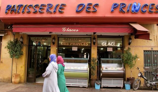 Patisserie des Princes i Marrakech.
