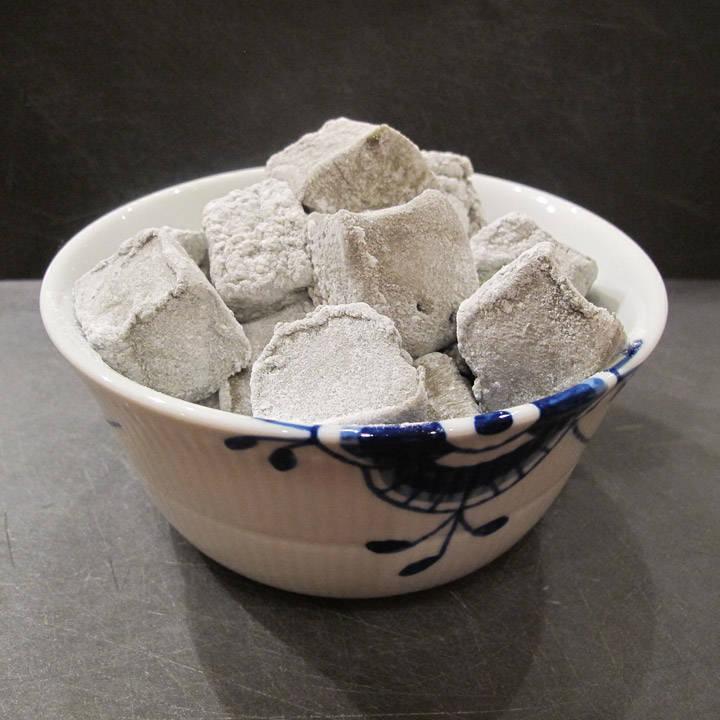 Marshmallows med lakrissmak